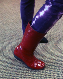 SYT Red Boots